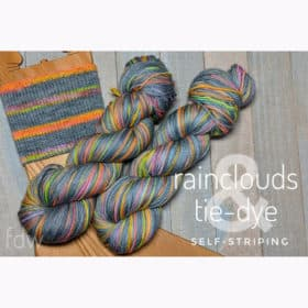 Rain Clouds & Tie-Dye Collection - Self-Striping (3)