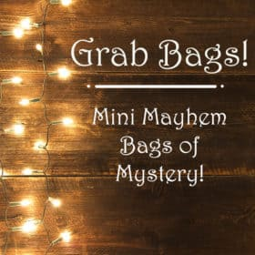 *CMS!* - Grab Bags! - Mini Mayhem Bags of Mystery - 40% off