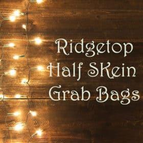 Grab Bags! - Ridgetop Half Skein Mystery Bags, DK & Fingering - 15% off