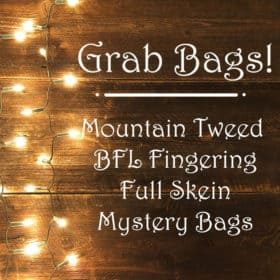 Grab Bags! - Mountain Tweed Semi-Solids - 25% off