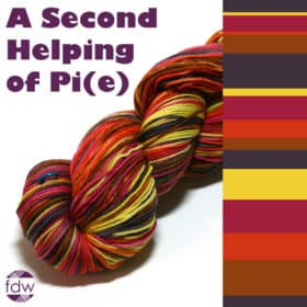 A Second Helping of Pi(e) Self-Striping - Dye-to-Order