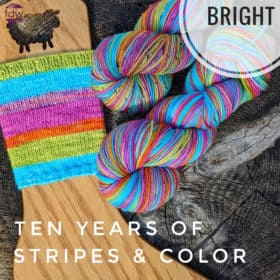 In Stock - Ten Years of Stripes & Color: Bright