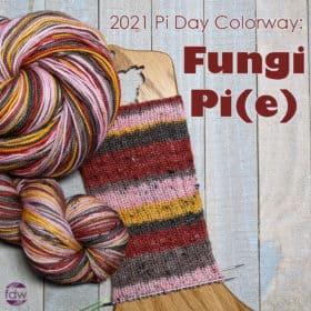 In-Stock & Dye-to-Order - Fungi Pi(e) Self-Striping